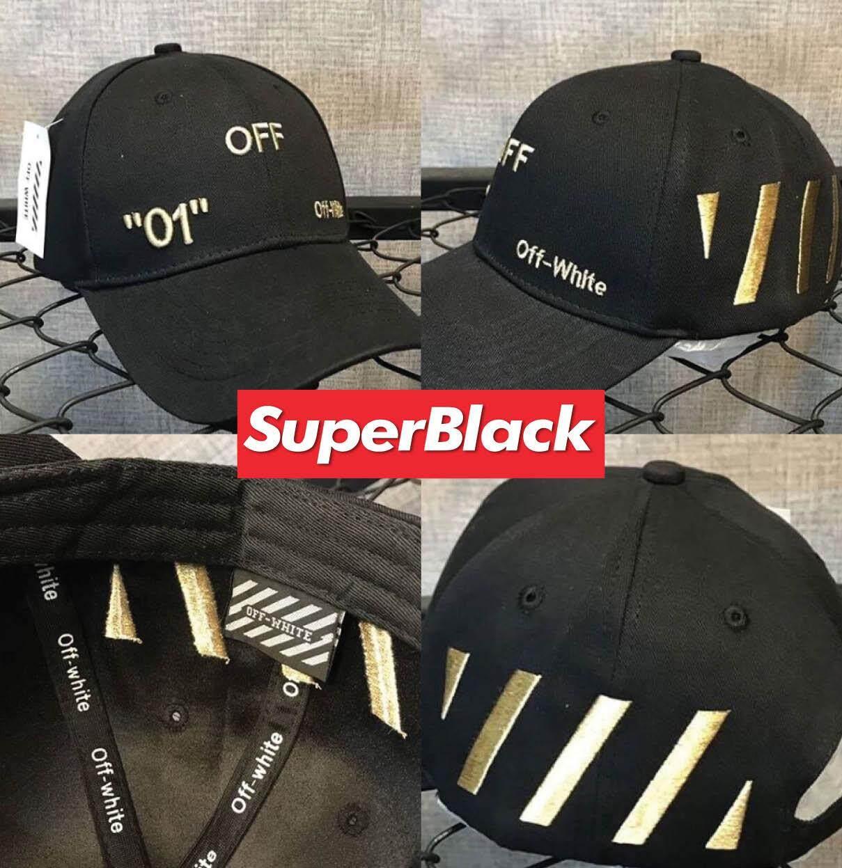 สุดยอดสินค้า!! หมวกOff-White GAP ®️ (สีดำ) *จัดส่งจากก.ท.ม ส่งฟรีKerryเก็บเงินปลายได้*