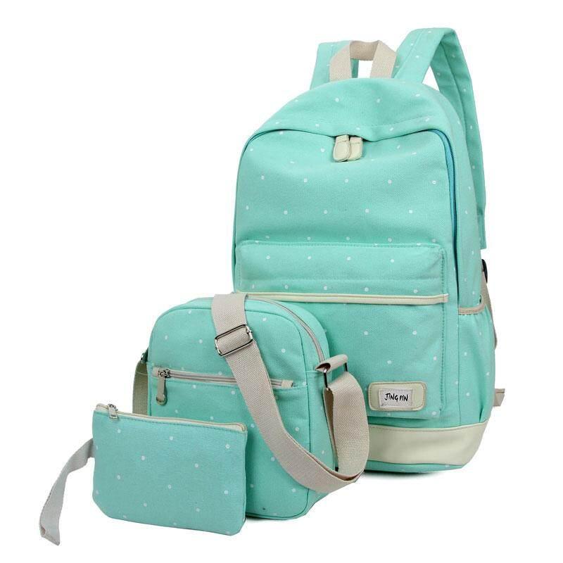 กระเป๋าเป้สะพายหลัง นักเรียน ผู้หญิง วัยรุ่น ประจวบคีรีขันธ์ กระเป๋าเป้สะพายหลัง กระเป๋าสะพายหลังผู้หญิง backpack women ซื้อ 1 แถม 2