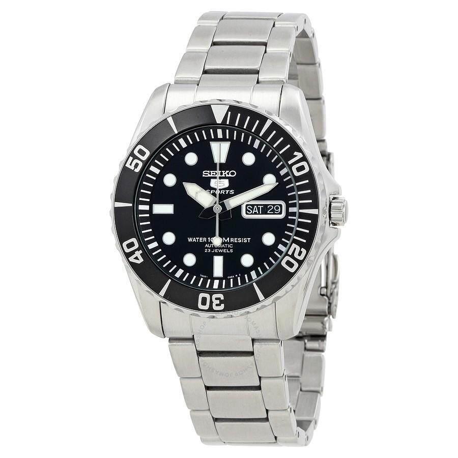 ยี่ห้อไหนดี  มุกดาหาร Seiko นาฬิกา ไซโก้ SNZF17K SNZF17 Automatic ซับมารีน ของแท้ 100% ใบประกันคู่มือกล่องครบ