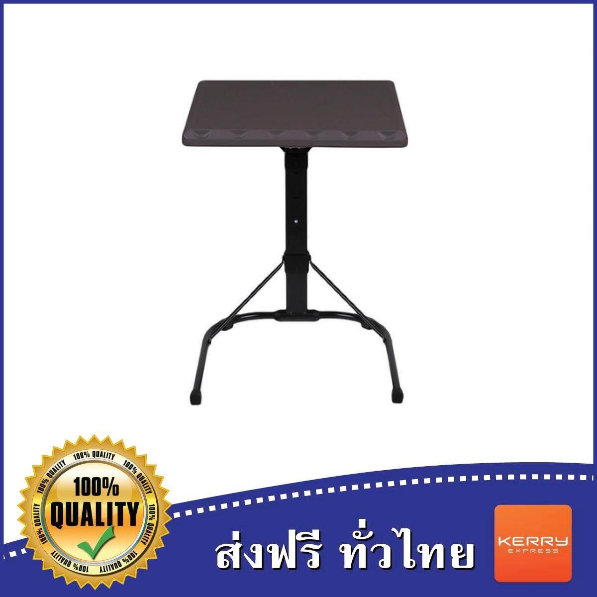 ลดสุดๆ โต๊ะเอนกประสงค์ โต๊ะพับวางของ โต๊ะพับเอนกประสงค์ โต๊ะพับขาเหล็ก โต๊ะพับได้ โต๊ะพับขายของ น้ำหนักเบา เคลื่อนย้ายสะดวก แข็งแรง PORTABLE FOLDING DESK DARK GRAY โต๊ะอเนกประสงค์ FILANO LT-2016 เทาเข