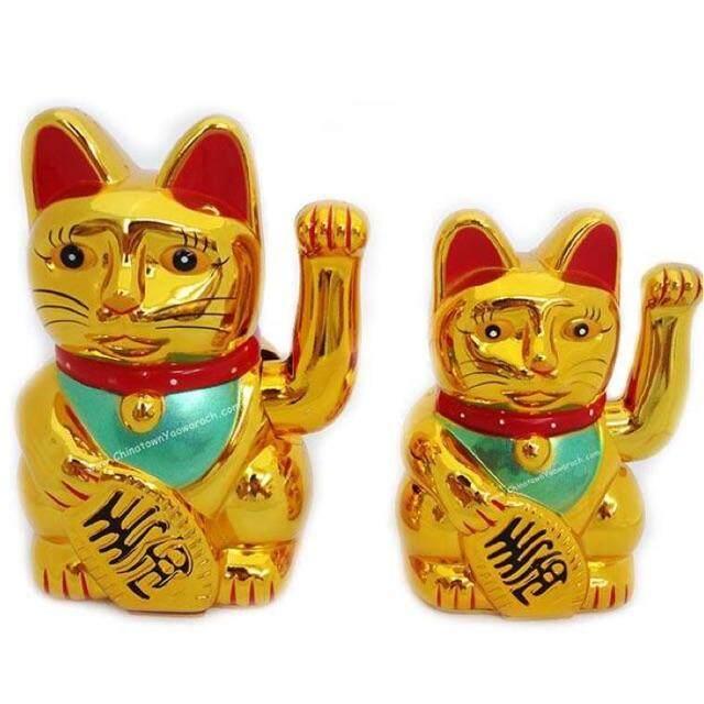 """""""ส่งฟรี KERRY""""ของขวัญต้อนรับตรุษจีนแมวกวักทอง นำโชคมาให้ เฮงๆรวยๆ ✨✨"""