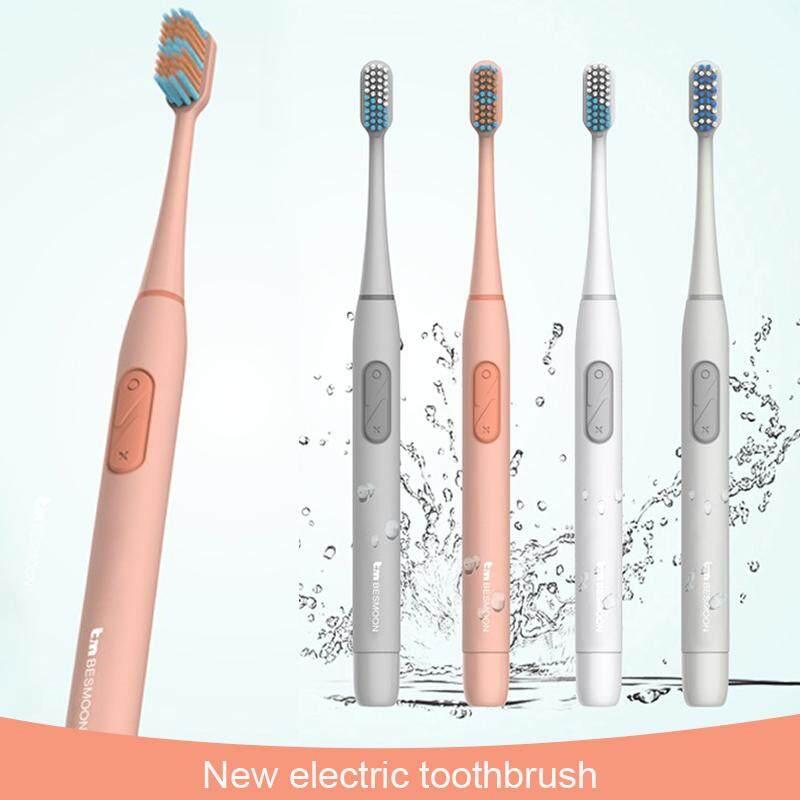 แปรงสีฟันไฟฟ้า รอยยิ้มขาวสดใสใน 1 สัปดาห์ เลย geesim G02 Electric Toothbrushes Sonic Vibration แปรงฟันไฟฟ้า แปรงสีฟันไฟฟ้าแบบชาร์จได้ พร้อมหัวเปลี่ยน Ultrasonic Toothbrush