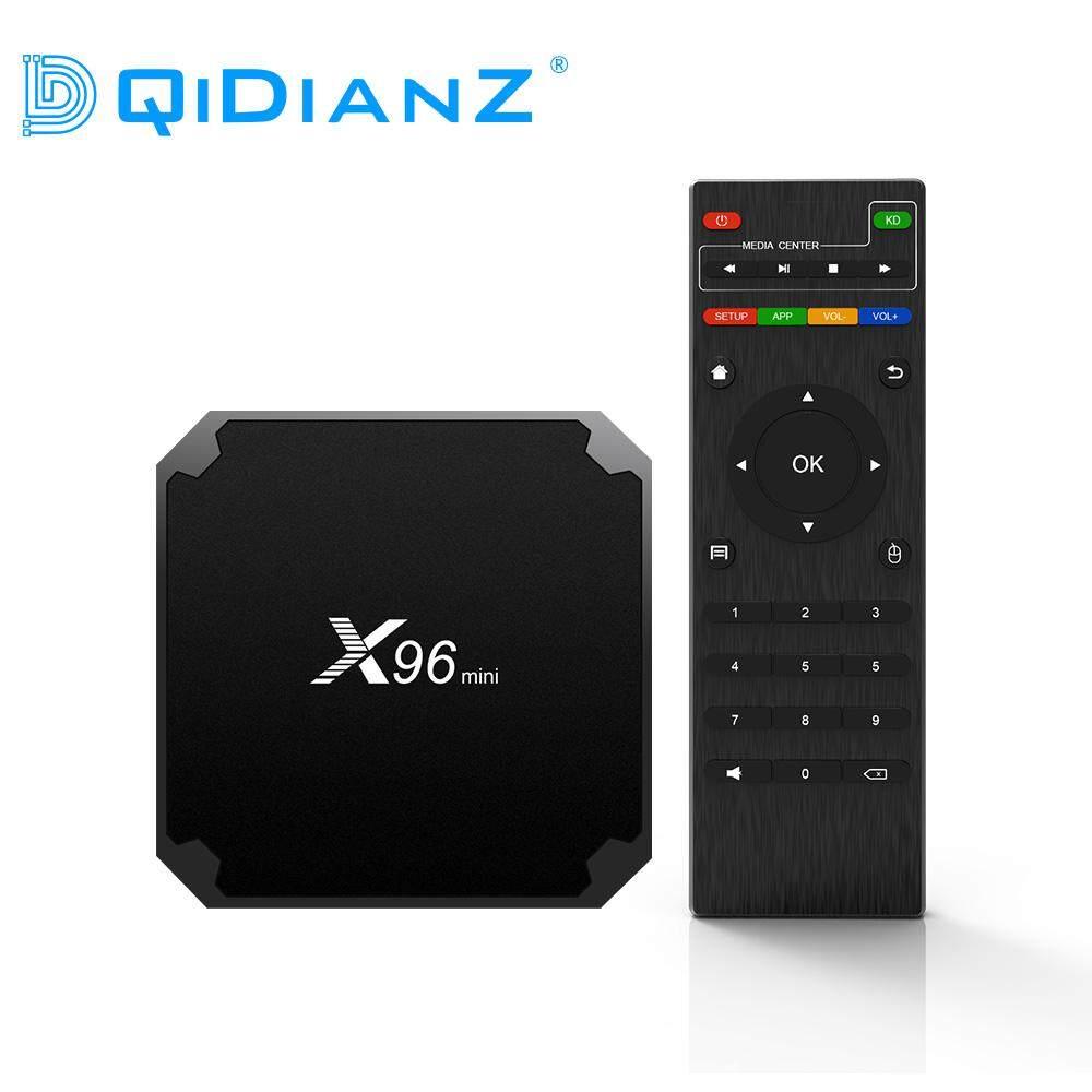 ยี่ห้อนี้ดีไหม  สตูล DQiDianZ X96mini Android 7.1 X96 มินิกล่องทีวีสมาร์ท S905W Quad Core สนับสนุน 2.4 กรัมไร้สาย WIFI สื่อกล่อง Set-Top Box