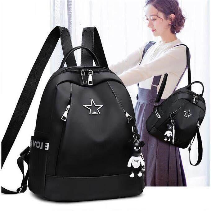 กระเป๋าถือ นักเรียน ผู้หญิง วัยรุ่น สตูล เวอร์ชั่นเกาหลีใหม่ กระเป๋าเป้ผู้หญิง กระเป๋าเป้เป้แฟชั่น กระเป๋าเป้สะพายหลังหญิงสาวชาวเกาหลี GUA 29