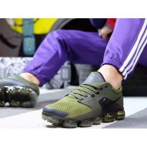 ยี่ห้อนี้ดีไหม  ตาก Modelb ลิขสิทธิ์แท้ รองเท้าผ้าใบผู้ชาย Nike ไนกี้ VAPORMAX DARK GREEN เท่ทุกมุมมอง ใส่สบายเท้า ส่งไวkerry
