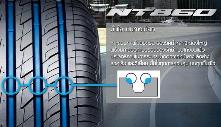 ซื้อที่ไหน  มุกดาหาร Nitto Tire Nt860 18560R15