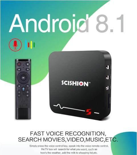 สินเชื่อบุคคลซิตี้  ชัยภูมิ Smart TV Box Android 8.1 แรม 2GB / รอม 16GB RK3229 2.4G WiFi