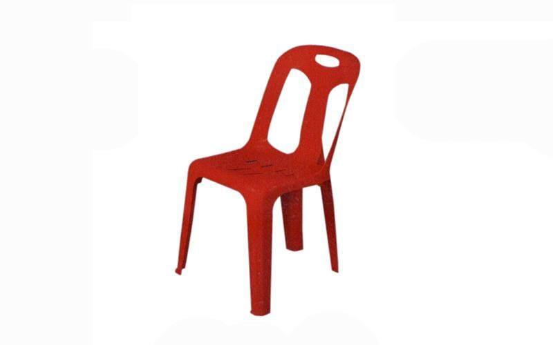 เช่าเก้าอี้ กรุงเทพ CHAIR PLASTIC RED