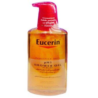 Eucerin Sensitive Skin pH5 Shower OilFor Dry Skin 400 ml