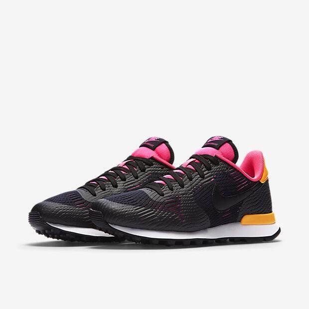 สุดยอดสินค้า!! รองเท้าผ้าใบ NIKE ไนกี้ แฟชั่น ลำลอง ผู้หญิง Internationalist EM Black Shock Pink นุ่มเบา สบายเท้า ++ลิขสิทธิ์แท้ 100% จาก NIKE พร้อมส่ง ส่งด่วน kerry++