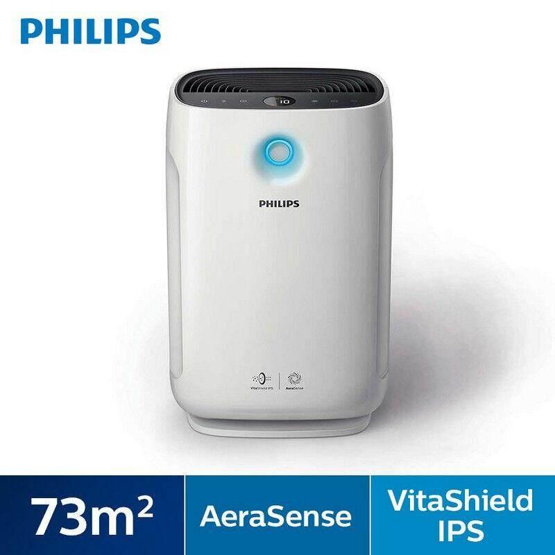 การใช้งาน  ลำปาง Philips เครื่องฟอกอากาศ ซีรีย์ 2000 เทคโนโลยี Aerasense และ Vitashield AC2887 สำหรับห้องขนาด 25-79 ตร.ม.