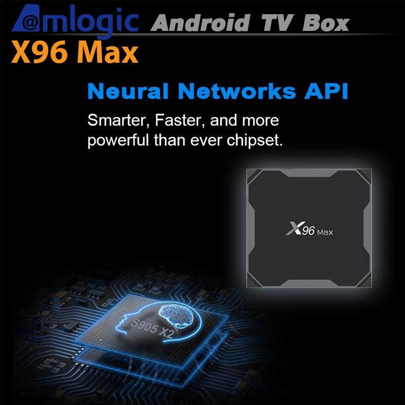 สอนใช้งาน  พะเยา X96Max Android 8.1 Amlogic S905X2 Quad Core 2.4G WiFi BT H.265 Smart TV Box Ram4/Rom32 GB