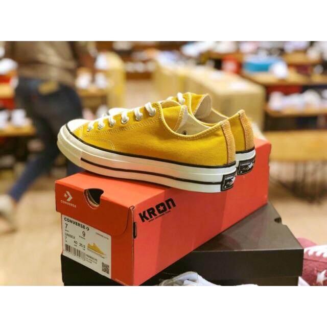 ยี่ห้อนี้ดีไหม  แม่ฮ่องสอน CONVERSE ALL STAR FIRST STRING 1970' OX Yellow  mustard