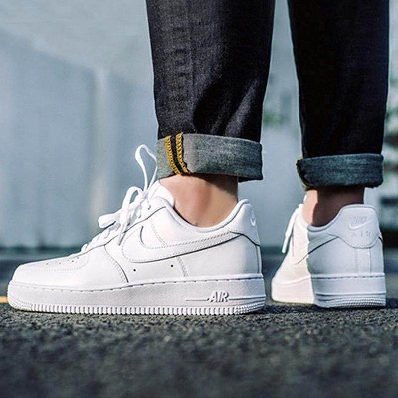 nike AIR FORCE 1 AF1 Men Breathable Skateboarding Shoes Low top Trainers Sports Flat Classic Outdoor Sneaker Fashion Shoes