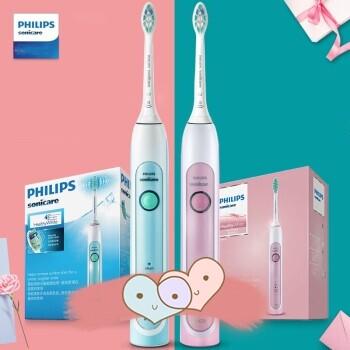 กระเป๋าสะพายพาดลำตัว นักเรียน ผู้หญิง วัยรุ่น แพร่ PHILIPS Electric Toothbrush Rechargeable Sonic Toothbrush  Buy Pink HX6761 Get Green HX6711 Actual 2 sticks  Couple Set