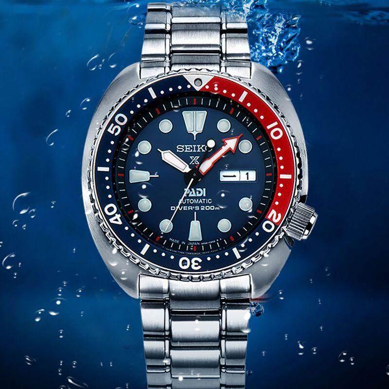 ยี่ห้อนี้ดีไหม  พิษณุโลก Seiko นาฬิกา SEIKO SNZF15 SNZF15K เรือดำน้ำอัตโนมัติ