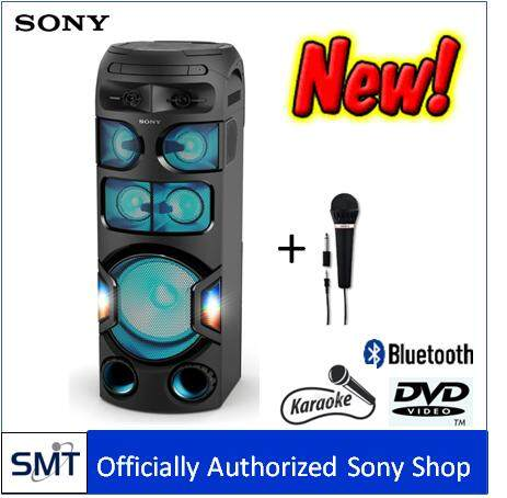 สอนใช้งาน  ยโสธร Sony MHC-V82D Mini Compo Karaoke All in One + Mic Sony F-V120