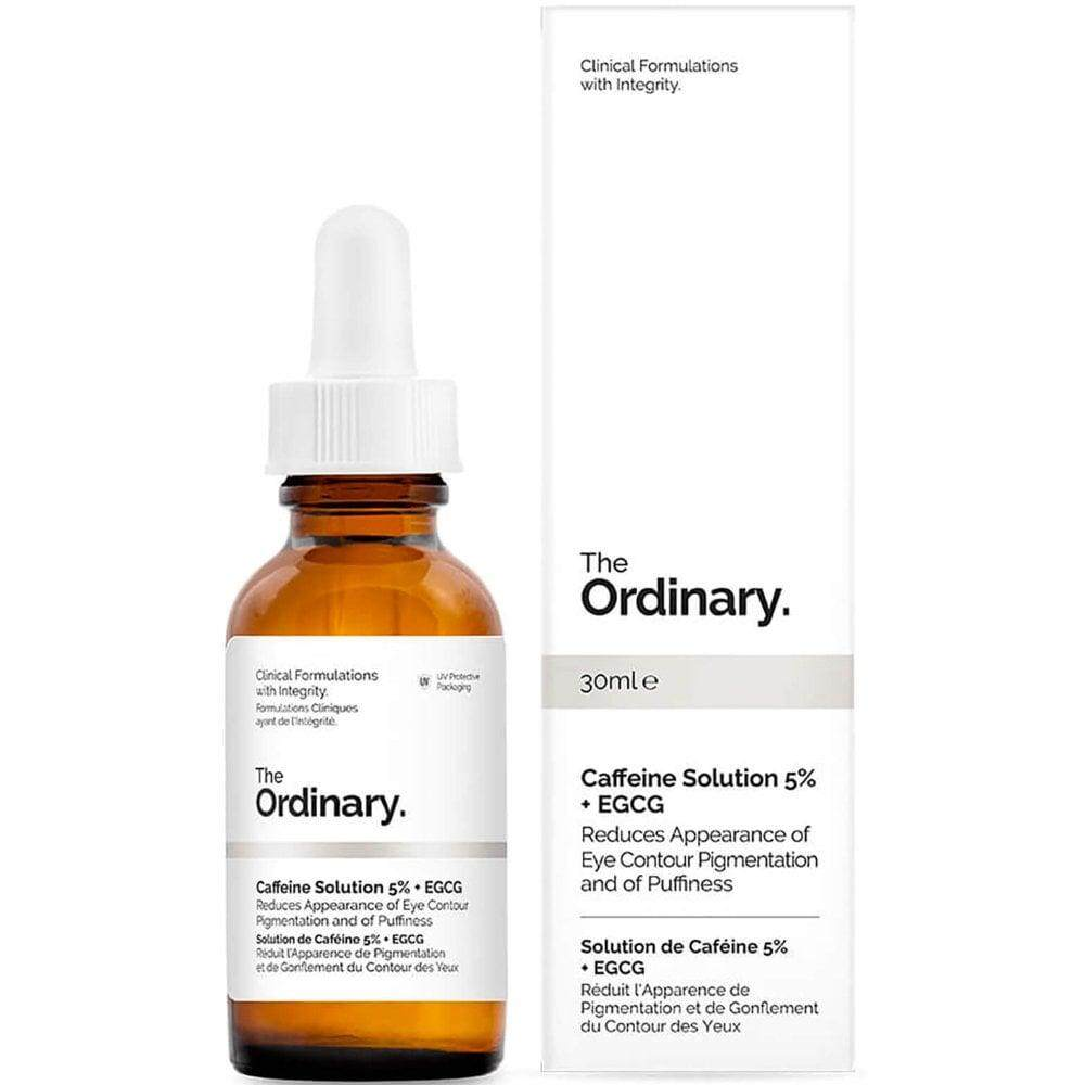 The Ordinary Caffeine Solution 5% EGCG Reduces Appearance of Eye Contour 30ml