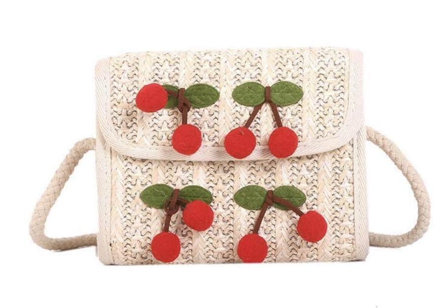 กระเป๋าถือ นักเรียน ผู้หญิง วัยรุ่น พิษณุโลก 2019 new foreign girl lace chain messenger bag fairy woven bag