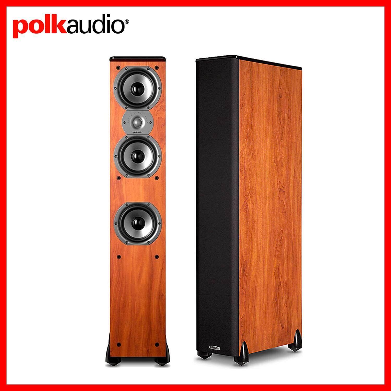 หนองบัวลำภู Polk Audio ลำโพงตั้งพื้นคุณภาพสูง รุ่น TSI-400-Cherry (ขายเป็นคู่)