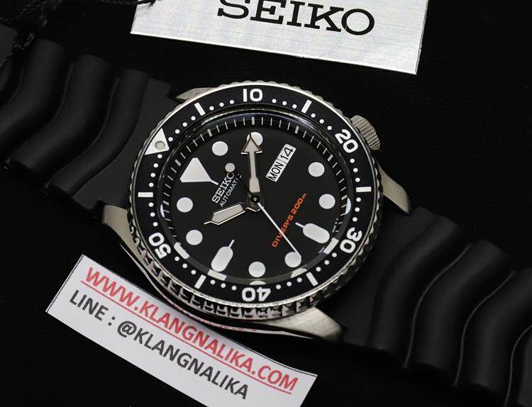 ยี่ห้อนี้ดีไหม  แพร่ นาฬิกาข้อมือ SEIKO SCUBA AUTOMATIC รุ่น SKX007K1