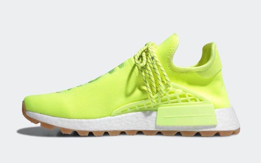 ยี่ห้อนี้ดีไหม  สตูล Adidas Pharrell NMD Hu Trail Know/Soul Neon  [สินค้าลิขสิทธิ์]