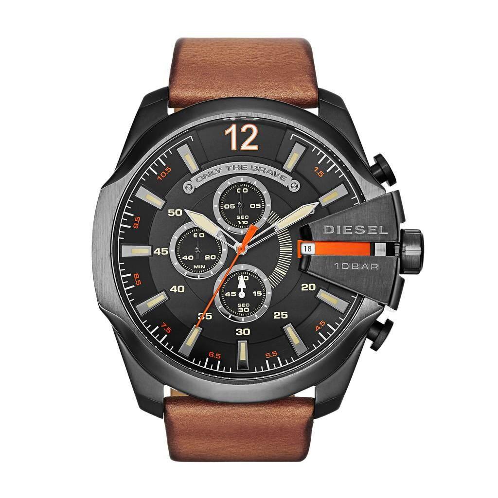 ยี่ห้อนี้ดีไหม  เลย คลังสินค้าพร้อมแฟชั่นดีเซลนาฬิกาผู้ชาย DZ4343