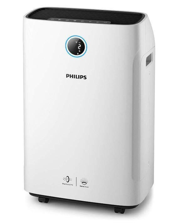 ทำบัตรเครดิตออนไลน์  ประจวบคีรีขันธ์ Philips Series 3000i 2-in-1 air purifier and humidifier - AC3829/60 - เครื่องฟอกอากาศและเพิ่มความชื้น
