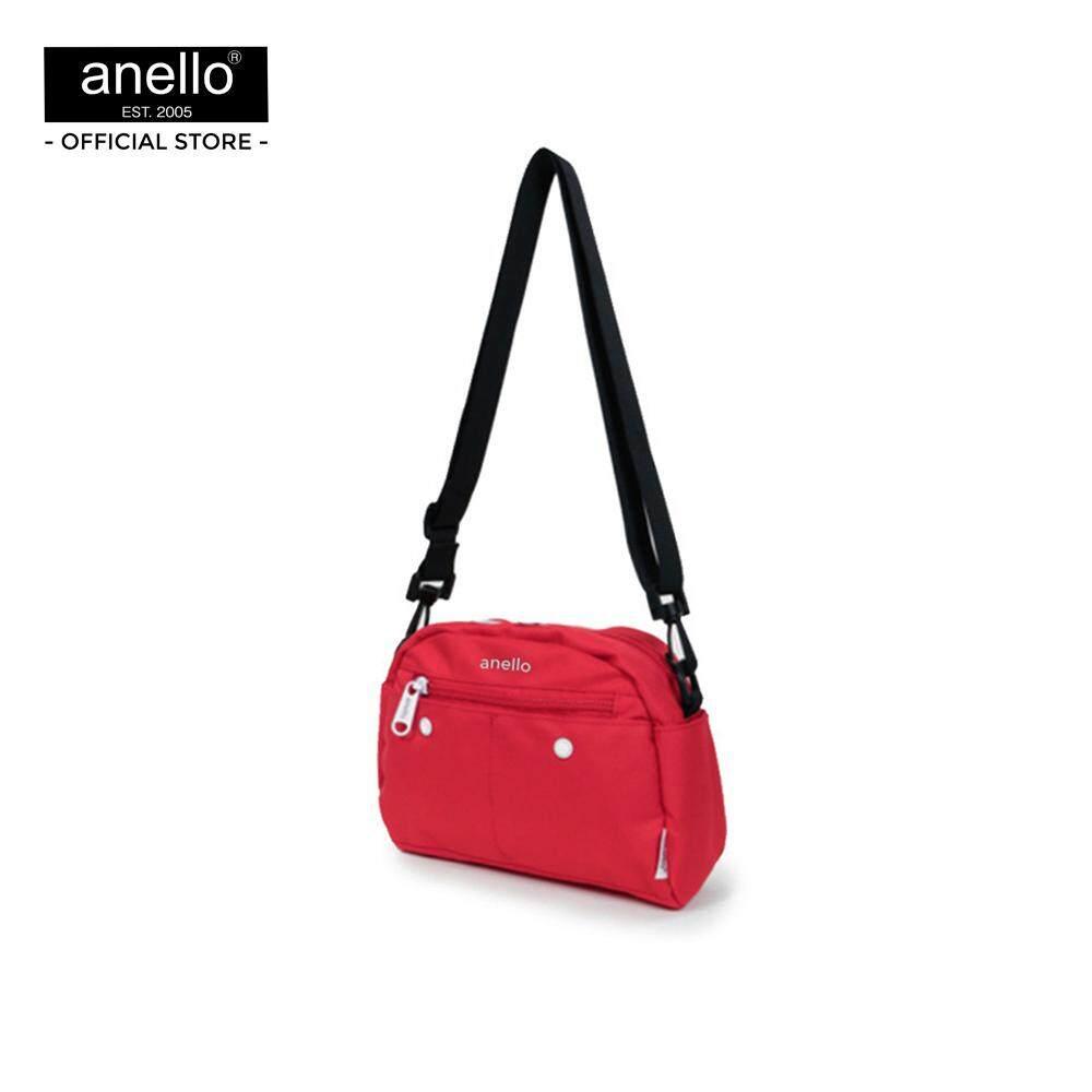 ยี่ห้อนี้ดีไหม  นนทบุรี anello กระเป๋าสะพายไหล่ CS 10 Pockets Shoulder_AT-S0119T
