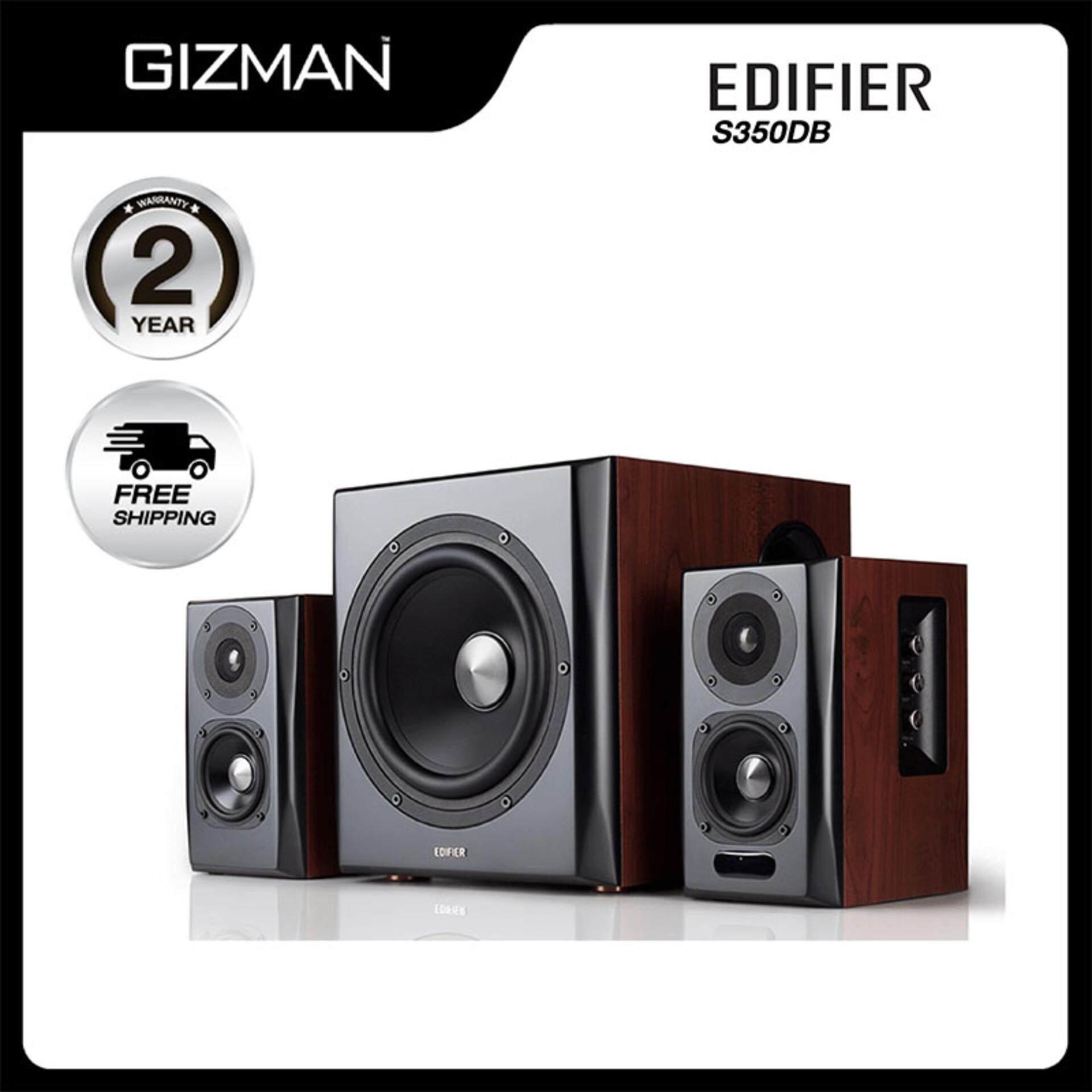 น่าน Edifier S350DB ลำโพงคอมพิวเตอร์ 2.1 Bluetooth Speaker 150w. Optical   Coaxial ของแท้ รับประกันศูนย์ไทย 2 ปี
