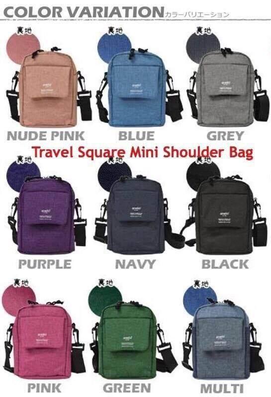 ยโสธร Anello Travel Square Mini Shoulder Bag