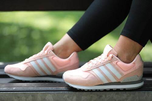 สุดยอดสินค้า!! Adidas รองเท้าผ้าใบ ผู้หญิง อาดิดาส Women shoes Rosa Pink น้ำหนักเบาสวมใส่สบาย พื้นรองรับแรงกระแทกดี ของแท้100% ส่งไวด้วย kerry!!!