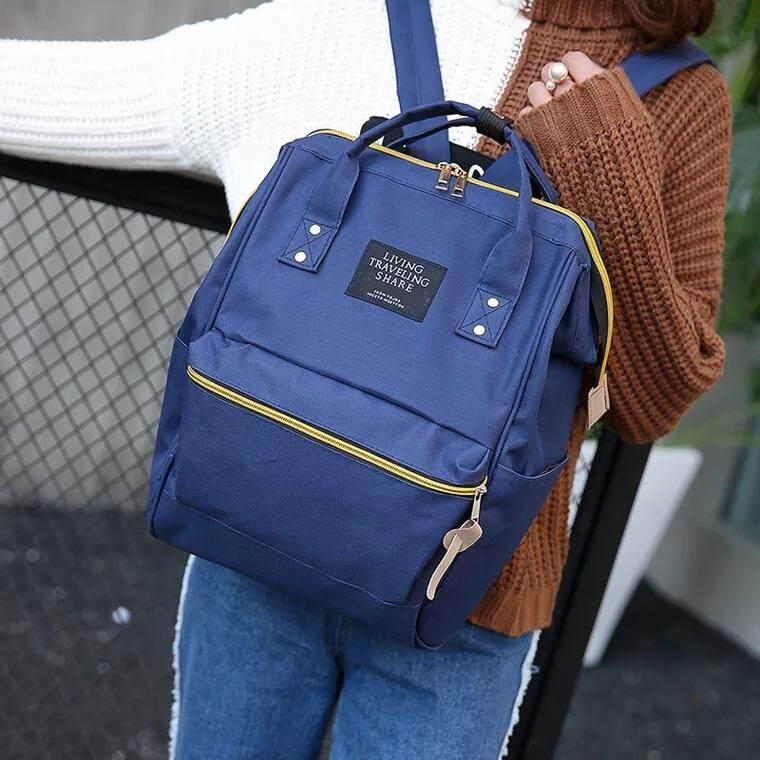 กระเป๋าเป้ นักเรียน ผู้หญิง วัยรุ่น นครราชสีมา BAIFA SHOP NO  LT02 กระเป๋าเป้LIVINGใบใหญ่จุใจ สพายหลัง