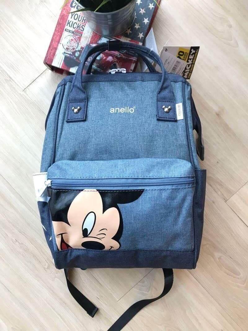 สอนใช้งาน  แพร่ พร้อมส่ง Anello Đisnēy 2019 Polyester Canvas Backpack Limited Edition