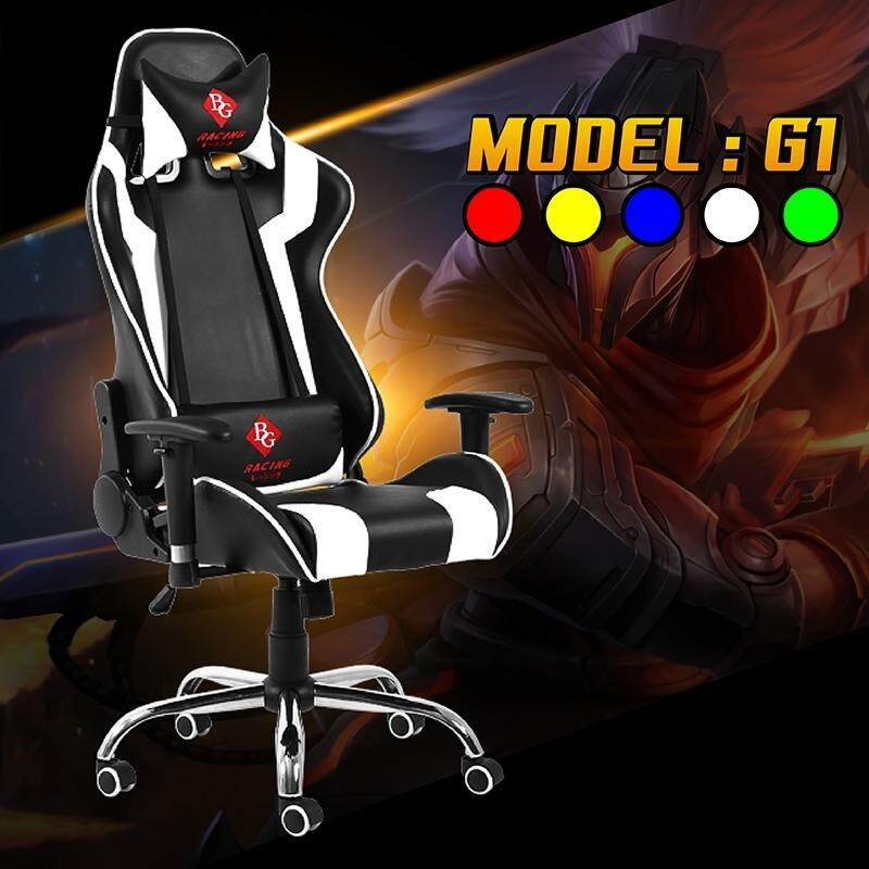 การใช้งาน  BG Furniture เก้าอี้เล่นเกม เก้าอี้เกมมิ่ง เก้าอี้คอเกม Racing Gaming Chair - รุ่น G1