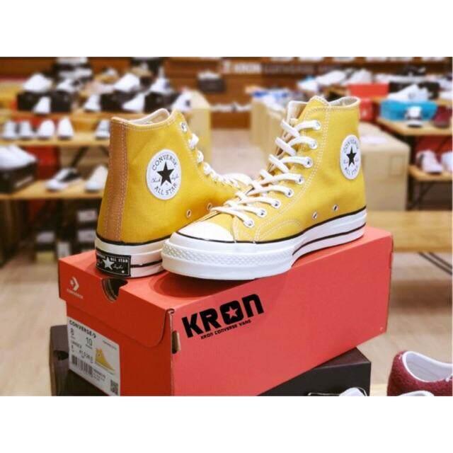 สอนใช้งาน  ยโสธร CONVERSE ALL STAR FIRST STRING 1970' Hi Yellow  mustard