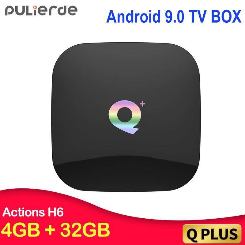 ยี่ห้อไหนดี  นครปฐม เครื่องเล่นเครือข่ายQ PLUS TV BOX 4 + 64 GB Android 8.1 H6 ชิปกล่องเครือข่ายโทรทัศน์เครื่องเล่น WIFI ฟังก์ชั่นบลูทูธ