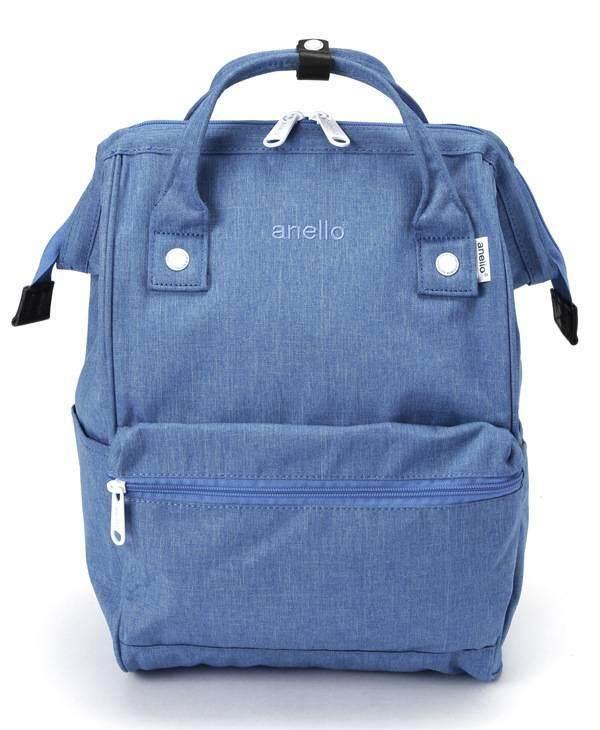 ยี่ห้อนี้ดีไหม  ประจวบคีรีขันธ์ Anello Regular Backpack-Heat Tone ฟ้า
