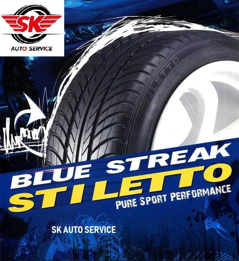ประกันภัย รถยนต์ แบบ ผ่อน ได้ กาฬสินธุ์ GOODYEAR ยางรถยนต์ (ล้อขอบ17) 215/45R17 รุ่น Blue Streak Stiletto 1 เส้น (ปีใหม่กริ๊ป 2019)