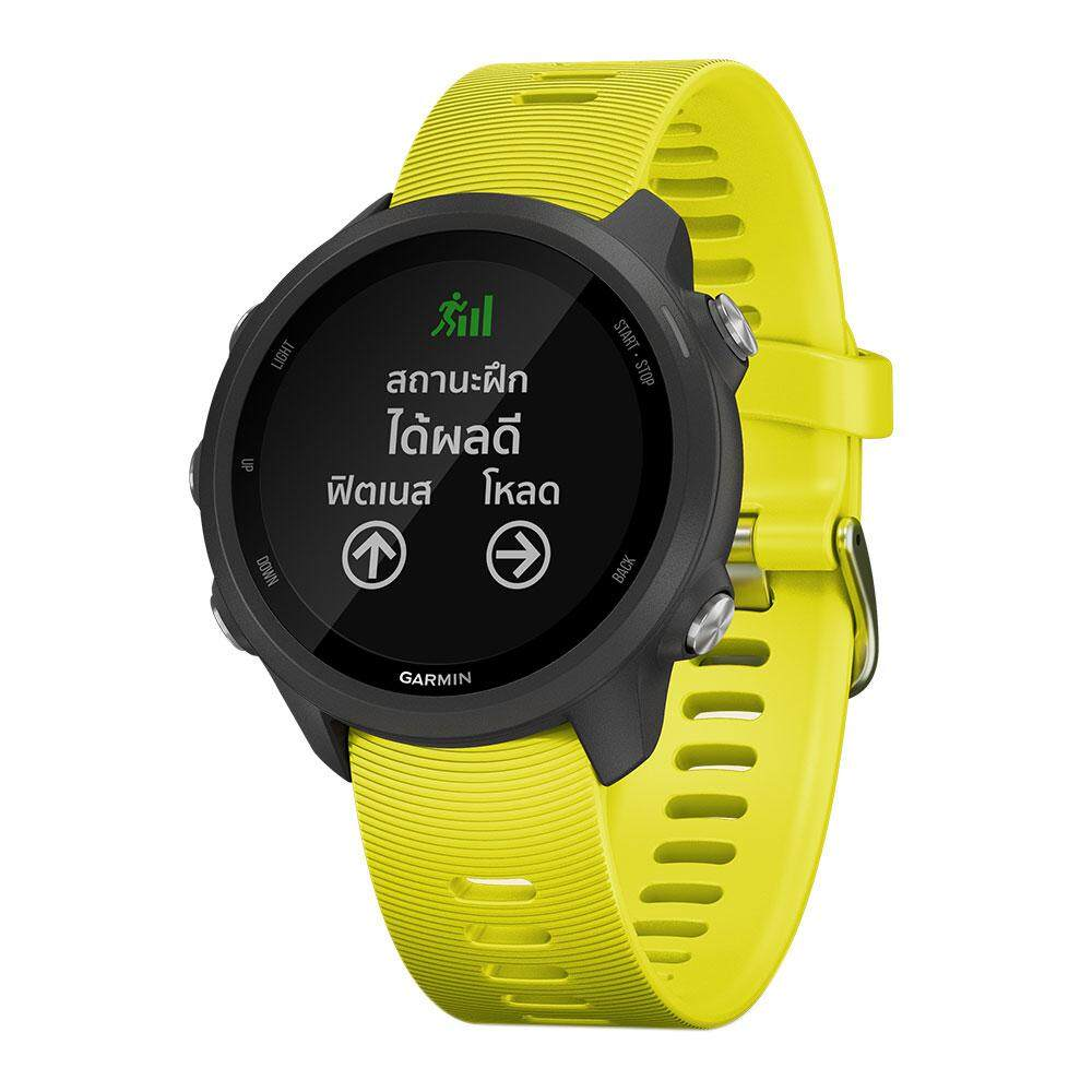 การใช้งาน  ระยอง Garmin Smartwatch Forerunner 245