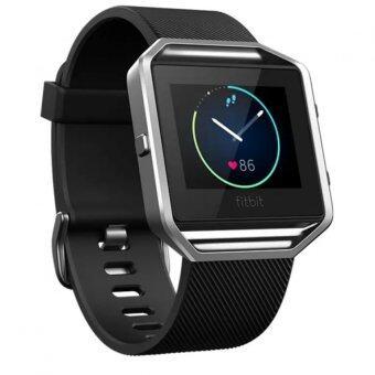 Fitbit Blaze Smart Fitness Watch ใหญ่ (สีดำ / เงิน)