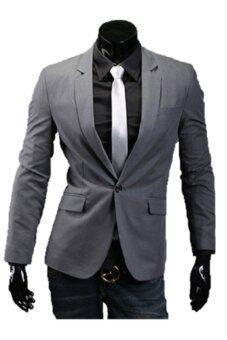 Following เสื้อสูทผู้ชาย รุ่น HHS74G (Gray)