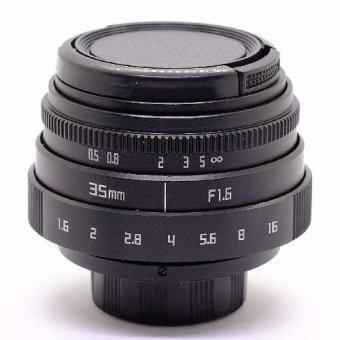 เลนส์มือหมุน FUJIAN 35MM Mark II F1.6 For OLYMPUS AND PANASONIC (Black)