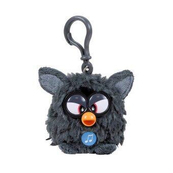 Furby Black Bunch พวงกุญแจเฟอร์บี้ (สีดำ)