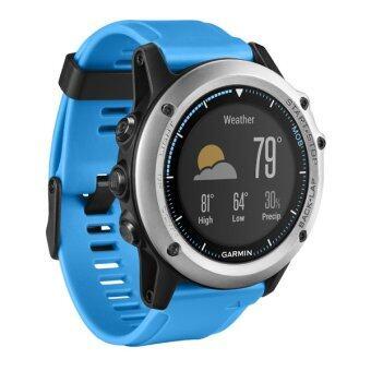 Garmin quatix® 3 Sapphire นาฬิกาสำหรับกิจกรรมทางน้ำและการออกกำลังกาย - (ฺBlue)