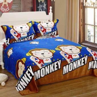 Getagift ผ้าห่มนาโน Happy Monkey ขนาด 180x200 ซม.