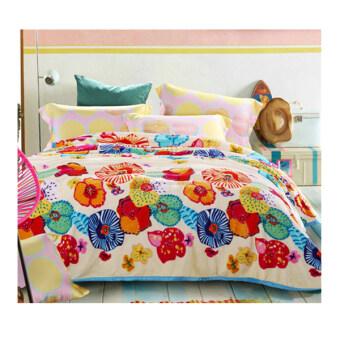 Getagift ผ้าห่มนาโน Lovely Flower ขนาด 180x200ซม.