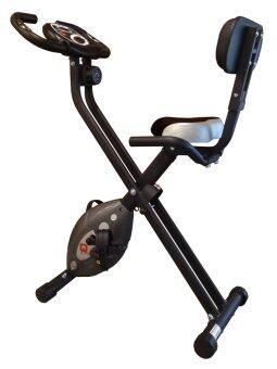Gsports จักรยานบริหารระบบแม่เหล็ก / พับได้ Q-Bike รุ่น GS-915 สีเทา/ดำ