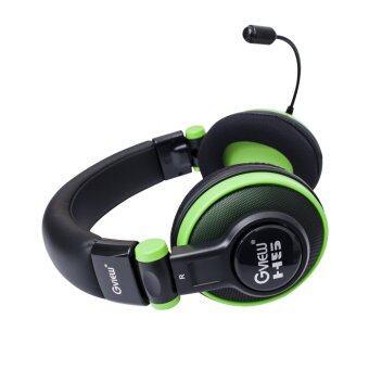 Gview ชุดหูฟังเกมมิ่ง (GV01GH) รุ่น H5 (สีดำ/เขียว)