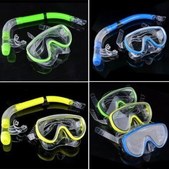 Happycat 2016 The Swimming Pool Diving Equipment Anti Fog Goggles Scuba Mask Snorkel Glasses